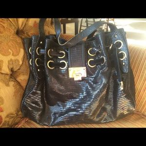 100% Authentic Large Jimmy Choo Ramona Handbag